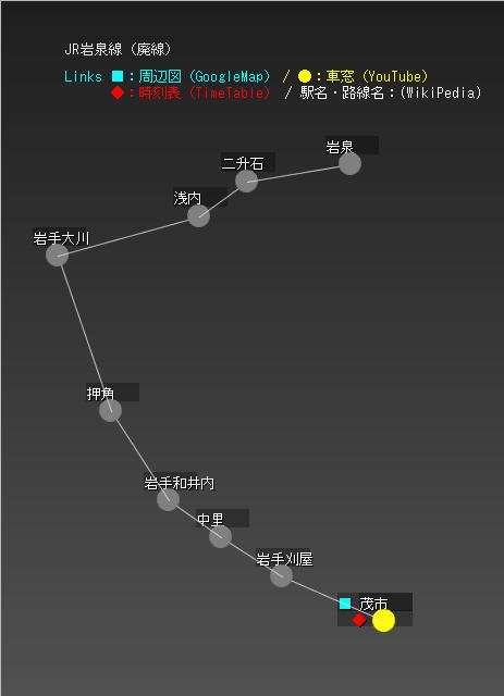 JR岩泉線(廃線)